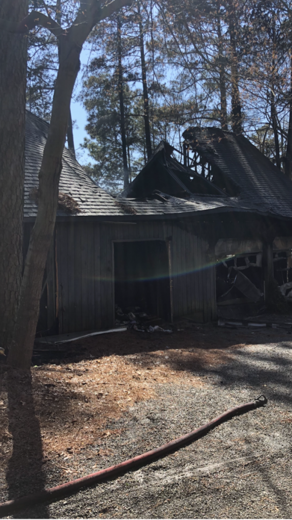 Lake Norman first on scene of home fire