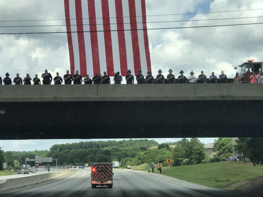 Lake Norman Salutes fallen hero