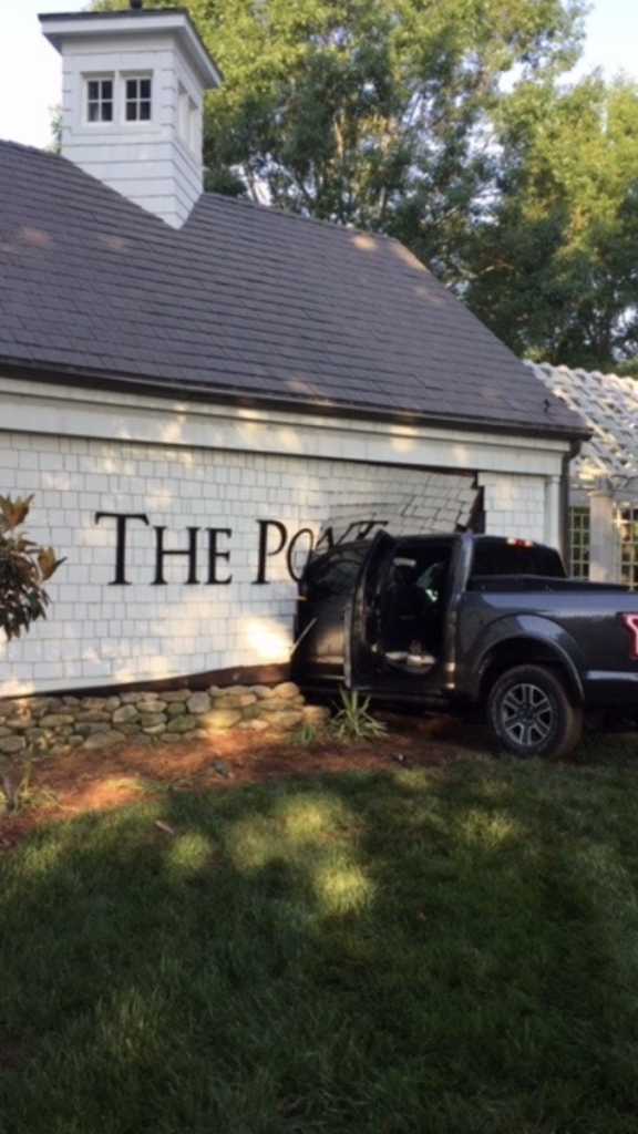 Lake Norman Fire responds to vehicle into building
